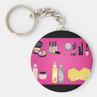 vectorvaco_makeup_set_09102801_large keychain