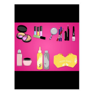 vectorvaco_makeup_set_09102801_large postcard