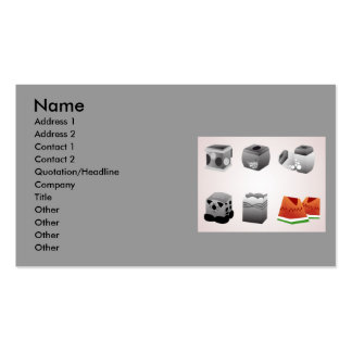 vectorvaco_tissue_box_vectors_09112601_large, N... Double-Sided Standard Business Cards (Pack Of 100)