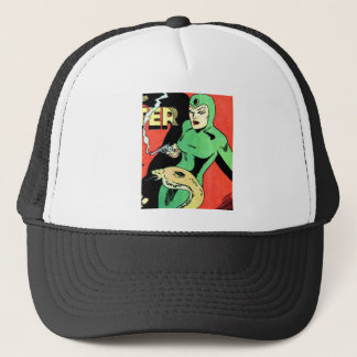 Veda the Cobra Woman Trucker Hat