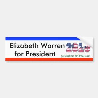 VEDADO de ELIZABETH PARA el bumpersticker 2020 del Pegatina Para Auto