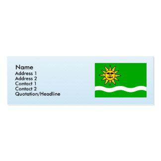 Vedomice, Czech Business Card Template
