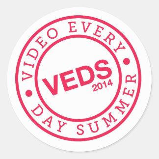 VEDS Limited Time Logo Sticker