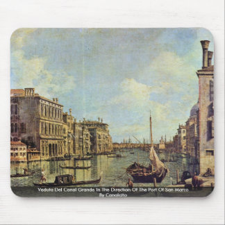 Veduta Del Canal Grande By Canaletto Mouse Pad