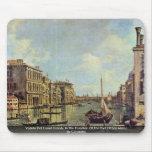 Veduta Del Canal Grande por Canaletto Tapete De Ratones