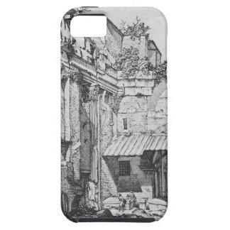 Veduta dell`Atrio del Portico di Ottavia iPhone SE/5/5s Case