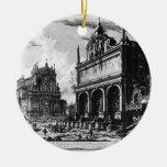 Vedute di Roma by Giovanni Battista Piranesi Ceramic Ornament
