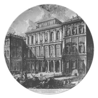 Vedute di Roma by Giovanni Battista Piranesi Dinner Plate