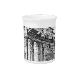 Vedute di Roma by Giovanni Battista Piranesi Drink Pitcher