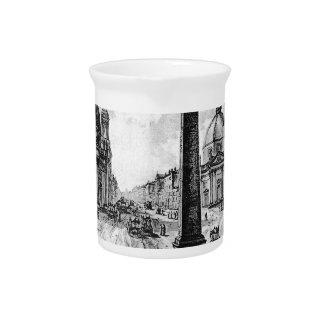 Vedute di Roma by Giovanni Battista Piranesi Drink Pitchers