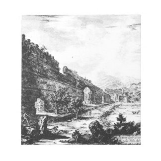 Vedute di Roma by Giovanni Battista Piranesi Notepad