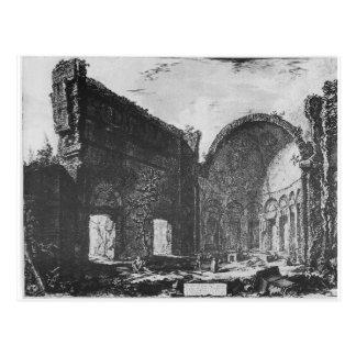 Vedute di Roma by Giovanni Battista Piranesi Postcard