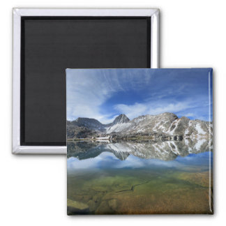Vee Lake and Seven Gables Panorama 2 - Sierra Magnet