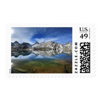 Vee Lake and Seven Gables Panorama 2 - Sierra Postage
