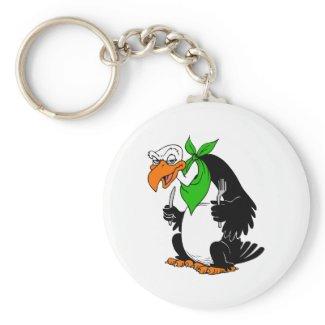 Veebie Vulture keychain