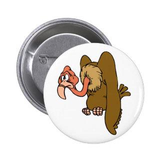 Veema Vulture Pinback Buttons