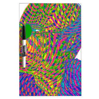 Veer Savarkar Psychedelic Dry-Erase Board