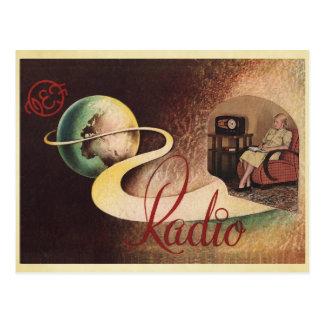 VEF Raadio Tallinn Postcard