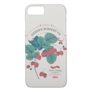 Veg Love Collection No.4 Raspberry iPhone 8/7 Case
