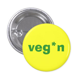veg*n small button