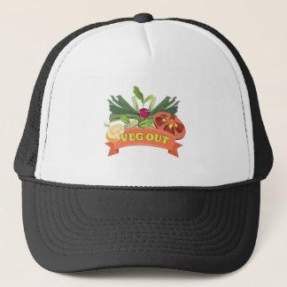 Veg Out Trucker Hat