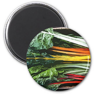 Veg Selection 2 Inch Round Magnet