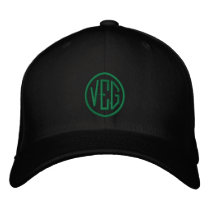 Veg - Vegetarian Emboridered Hat