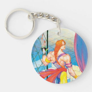 Vega After Fight Double-Sided Round Acrylic Keychain