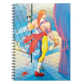 Vega After Fight Spiral Note Book