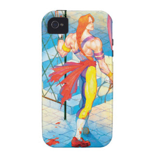 Vega After Fight Vibe iPhone 4 Case