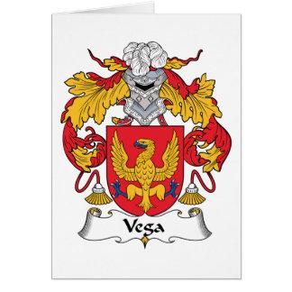 Vega Family Crest Card