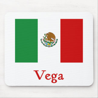 Vega Mexican Flag Mouse Pad