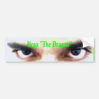 "Vega ""The Dragon"" bummer Sticker"