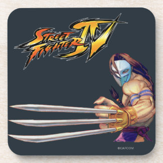 Vega With Claws Drink Coaster