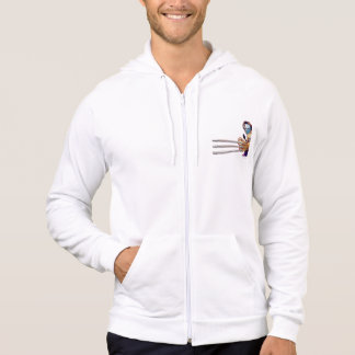 Vega With Claws Hoodie