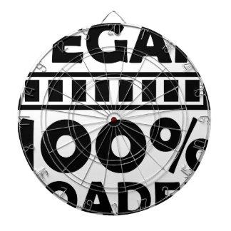 vegan 100% loaded dart boards