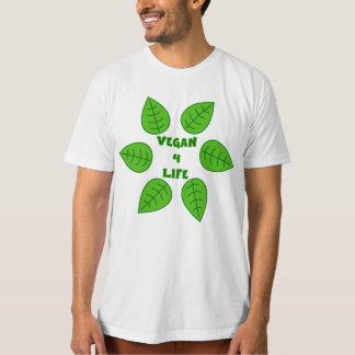 Vegan 4 Life Green Leaves Men's Organic T-Shirt