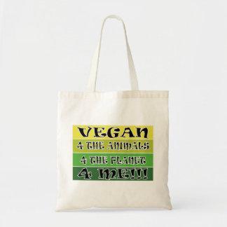 Vegan 4 Tote Bag