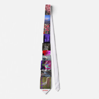 Vegan Advocate Nature Images Tie