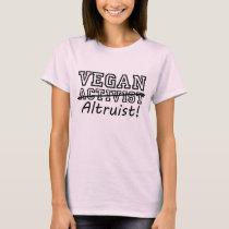 VEGAN Altruist (blk) T-Shirt