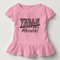 VEGAN Altruist (blk) Toddler T-shirt