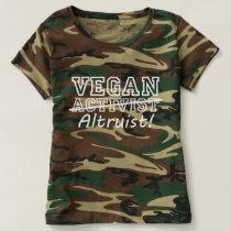 VEGAN Altruist (wht) T-shirt