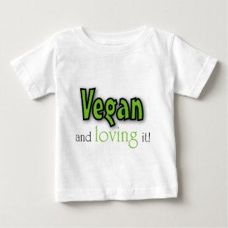 Vegan and loving it t shirt