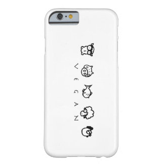 Vegan Animal Phone iPhone 6 case