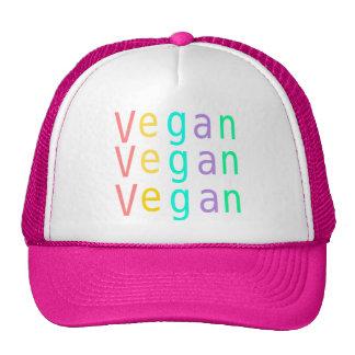 Vegan. animal rights. trucker hat. hot pink. trucker hat