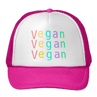 Vegan. animal rights. trucker hat. hot pink. trucker hat
