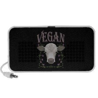 Vegan - animales quieren vivir mini altavoz