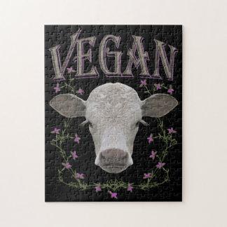Vegan - animales quieren vivir puzzle