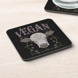 Vegan - animals want to live coaster