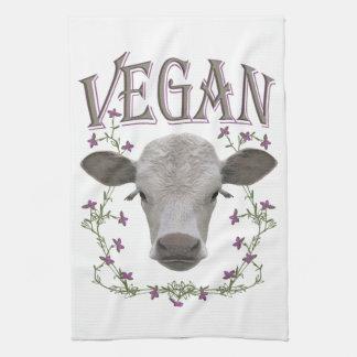 Vegan - animals want to live towel
